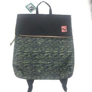 Puma prime street backpack green black